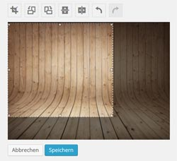 bildbearbeitung in wordpress 3.9