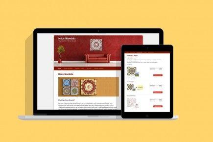 Webseite Haus Mandala