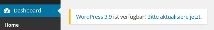 wordpress sicherheit - updates