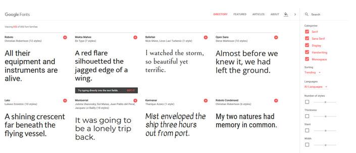google fonts in wordpress einbinden step 1