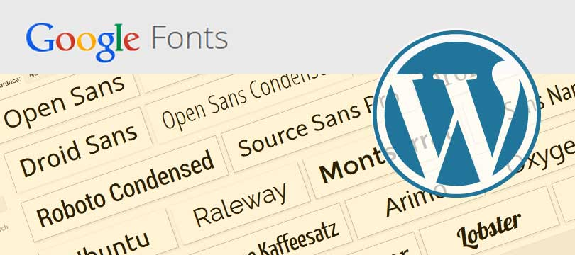 Google Fonts in WordPress einbinden