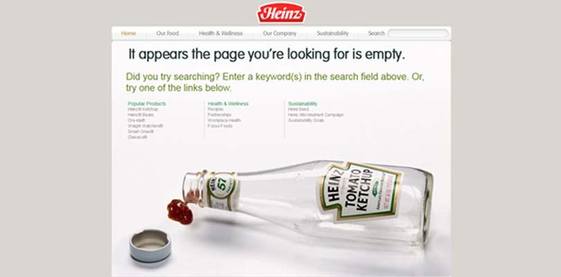 404 fehlerseite heinz