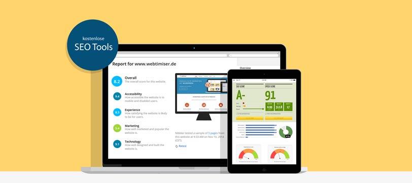 Kostenlose SEO Tools zur Webseiten-Analyse