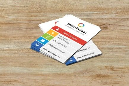Business Cards Konzept & Design