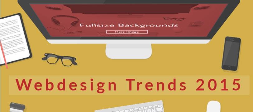 Webdesign Trends 2015