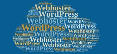 WordPress Webhoster Übersicht