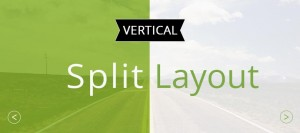 vertical split layouts preview