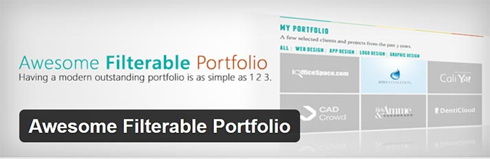 awesome filterable portfolio plugin