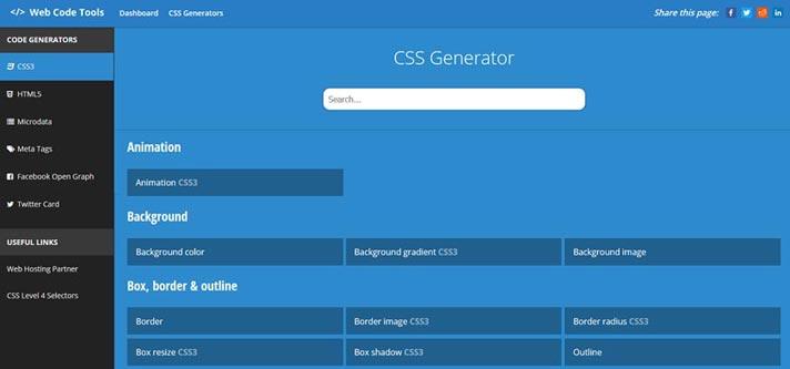 CSS Generator