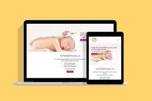 Webdesign Hypnobirthing