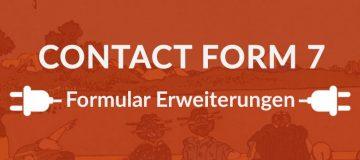 9+ nützliche Erweiterungen für Contact Form 7