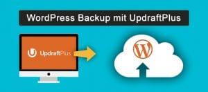 wordpress backup mit updraftplus