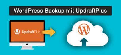 WordPress Backup mit UpdraftPlus erstellen