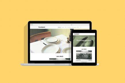 Restaurant Webseite Dorfschänke