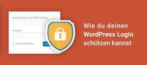 WordPress Login schützen