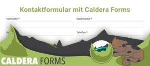 caldera forms kontaktformular