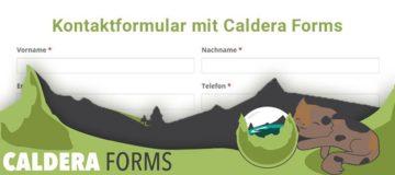 Kontaktformular mit Caldera Forms