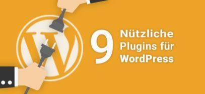9 nützliche WordPress Plugins