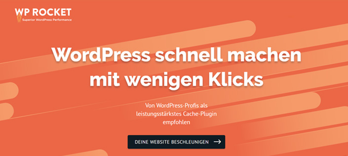 wp rocket - bestes wordpress caching plugins