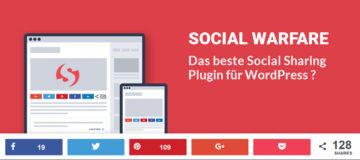 Social Warfare: Social Sharing für WordPress