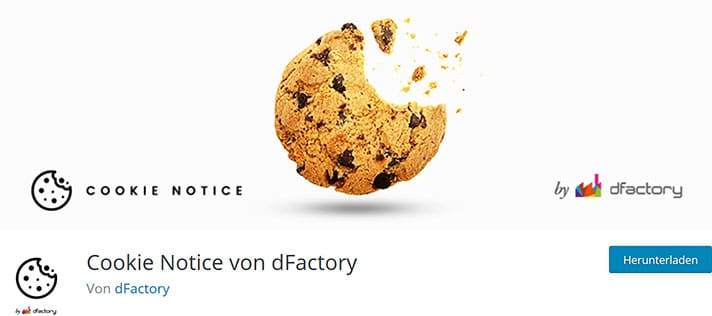 Cookie notice dfactory