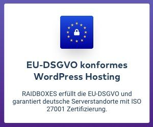raidboxes - dsgvo konform
