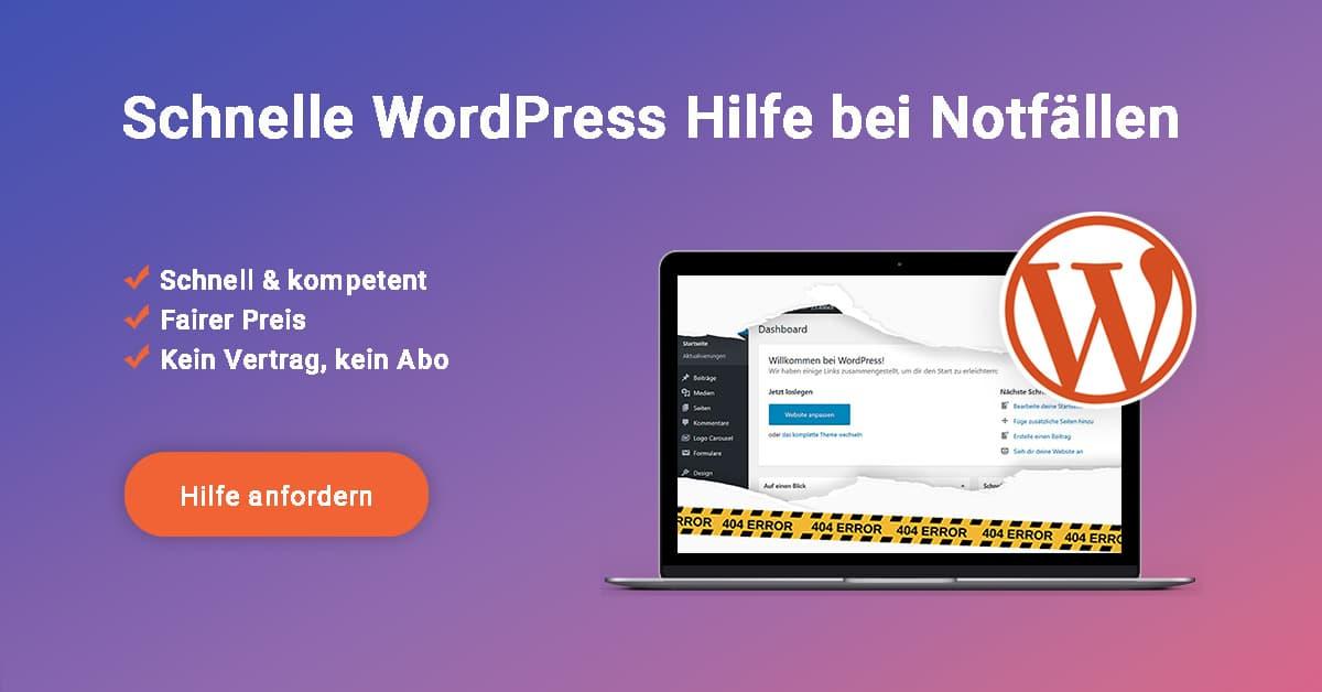 Wordpress Hilfe Schnell Und Kompetent Wp Agentur Webtimiser