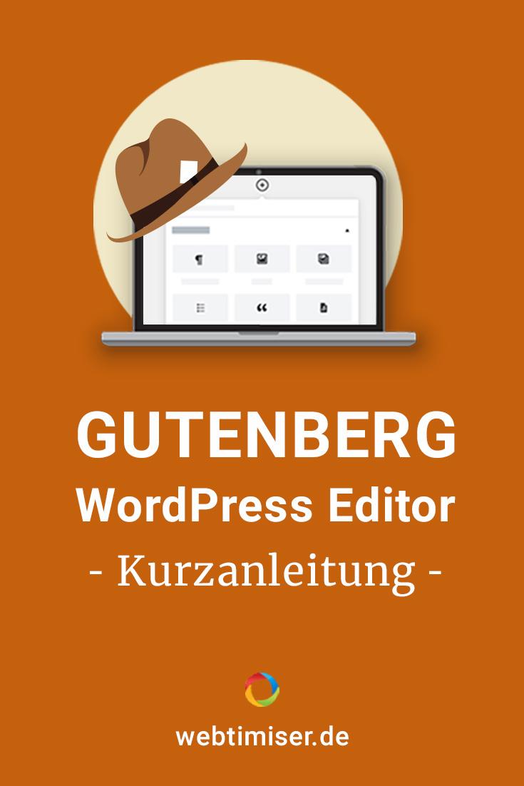 Hast Du Dir schon den neuen #WordPress Editor #Gutenberg angesehen? In meiner Kurzanleitung stelle ich Dir die wichtigsten Features kurz vor.