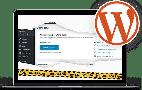 WordPress Hilfe im Notfall