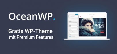 OceanWP: kostenloses WordPress Theme mit Premium-Features