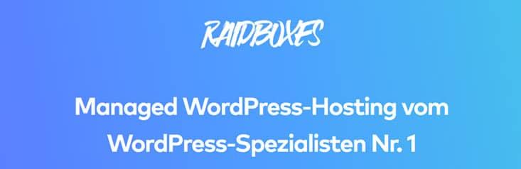 Raidboxes Hosting Banner