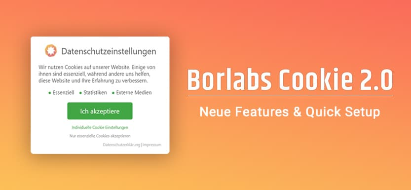 Borlabs Cookie 2.0: Features & Kurzanleitung