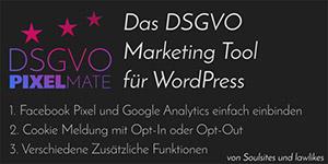 DSGVO Pixelmate Banner