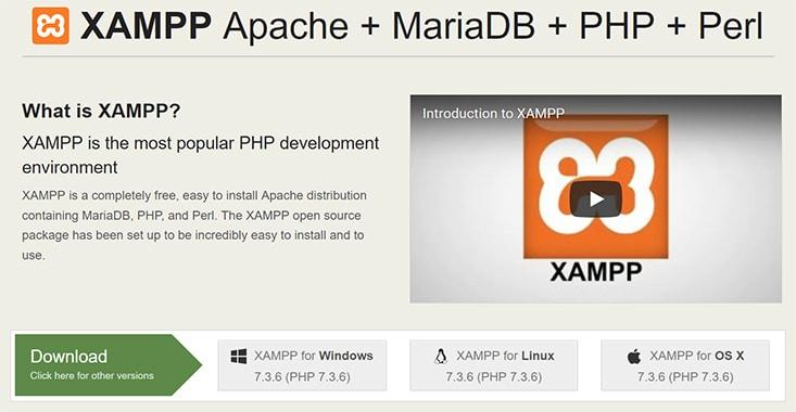 WordPress lokal installieren - XAMPP