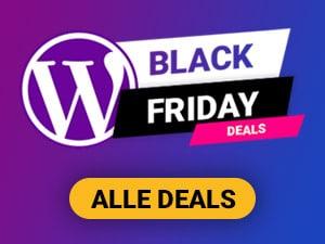 WordPress Angebote Black Friday
