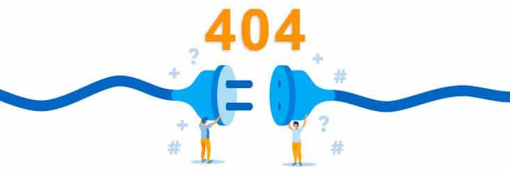 Defekte Links 404 Fehler