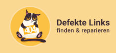 Defekte Links in WordPress finden & reparieren