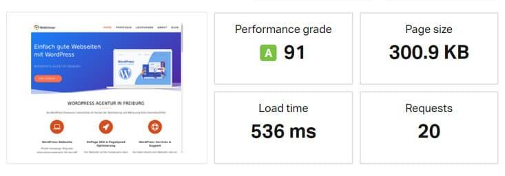 Performance Test Pingdom