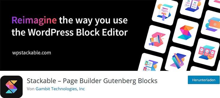 Stackable - Page Builder Gutenberg Blocks
