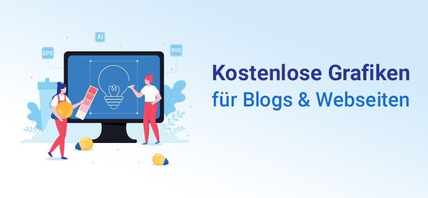 Kostenlose Grafiken für Blogs & Websites – die besten Quellen
