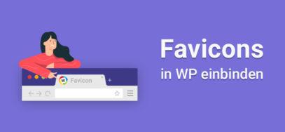 So bindest du ein Favicon in WordPress ein