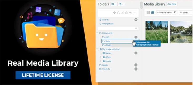 Real Media Library Produkt Abbildung
