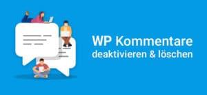 WordPress Kommentare deaktivieren Vorschaubild