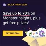 monsterinsights black friday