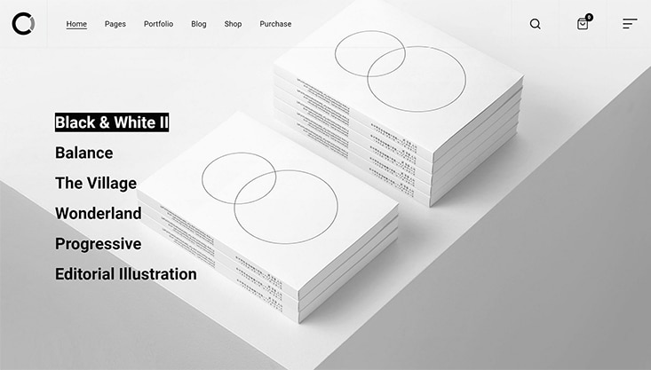 Ozark - Minimal WordPress Portfolio Theme