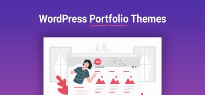 Die besten WordPress Portfolio Themes