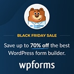 wordpress angebote black friday wpforms