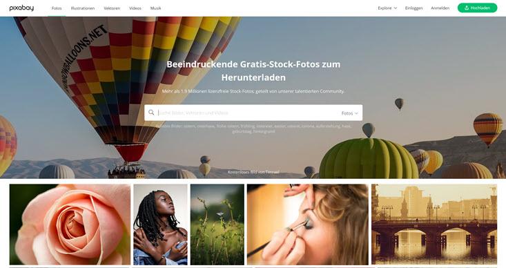 kostenlose bilder bei pixabay