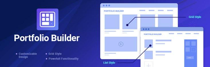 portfolio builder plugin