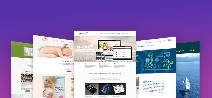 Enfold Theme Beispiel Websites